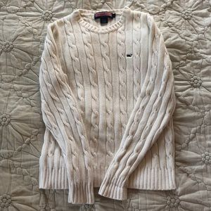Vineyard Vines Cable Knit Sweater L